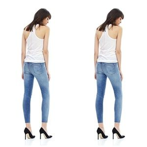 "Hudson Nico Skinny Jeans 25"" inseam"
